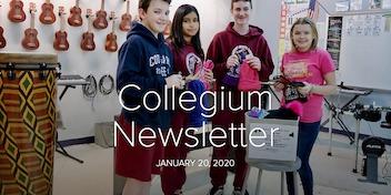 January 20 Newsletter