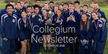 October 29 Newsletter