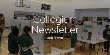 April 2 Newsletter