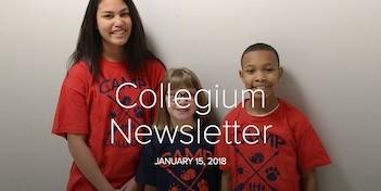 January 15 Newsletter
