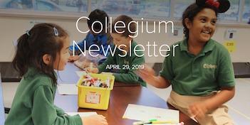 April 29 Newsletter